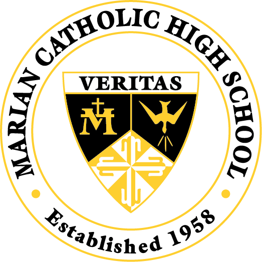 Marian Catholic HS shield