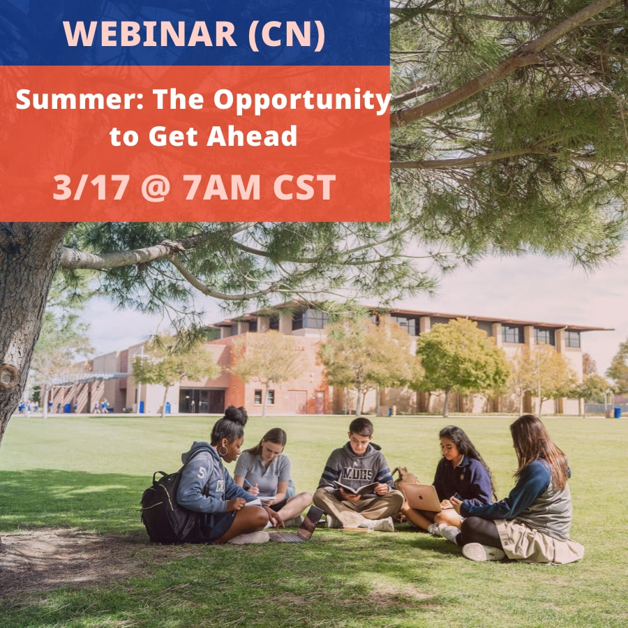 Summer: The Opportunity to Get Ahead